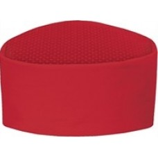 Chef Mesh Skull Cap (RED)