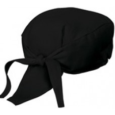 Chef Head Wrap (BLACK)