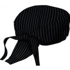 Chef Head Wrap (PINSTRIPE)